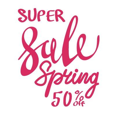 Super Sale Spring