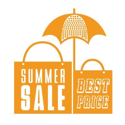 Summer Sale ομπρέλα και τσάντες παραλίας