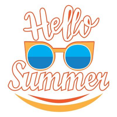 Hello Summer γυαλιά και χαμόγελο