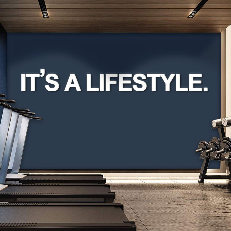 It's a Lifestyle