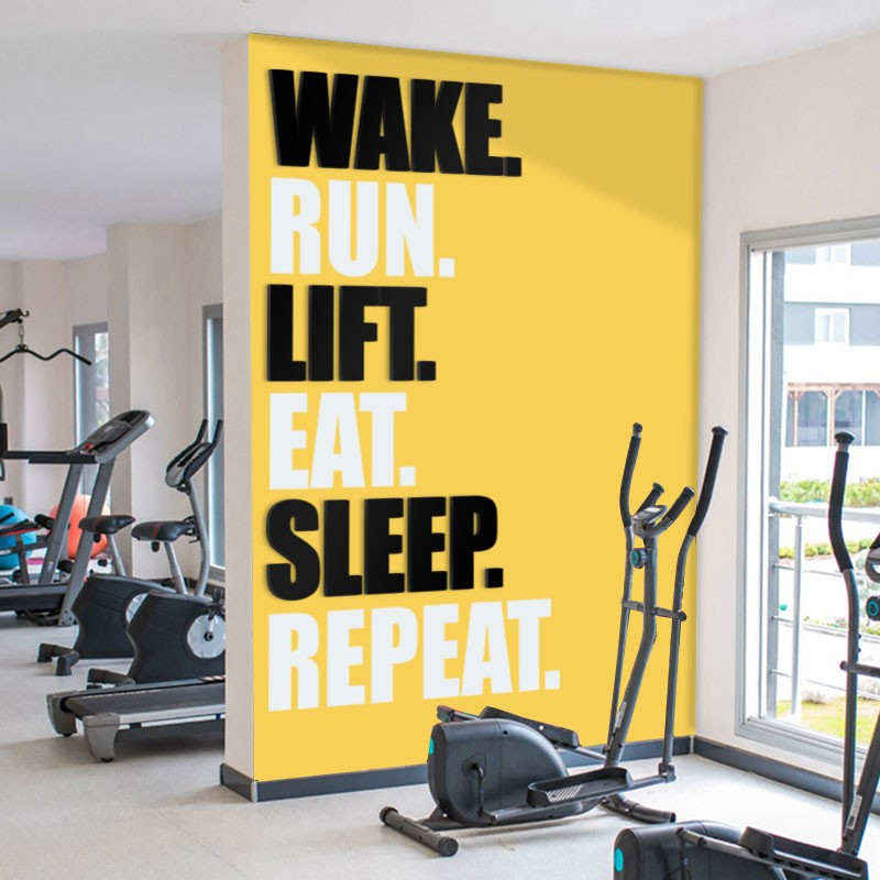 WAKE, RUN, LIFT