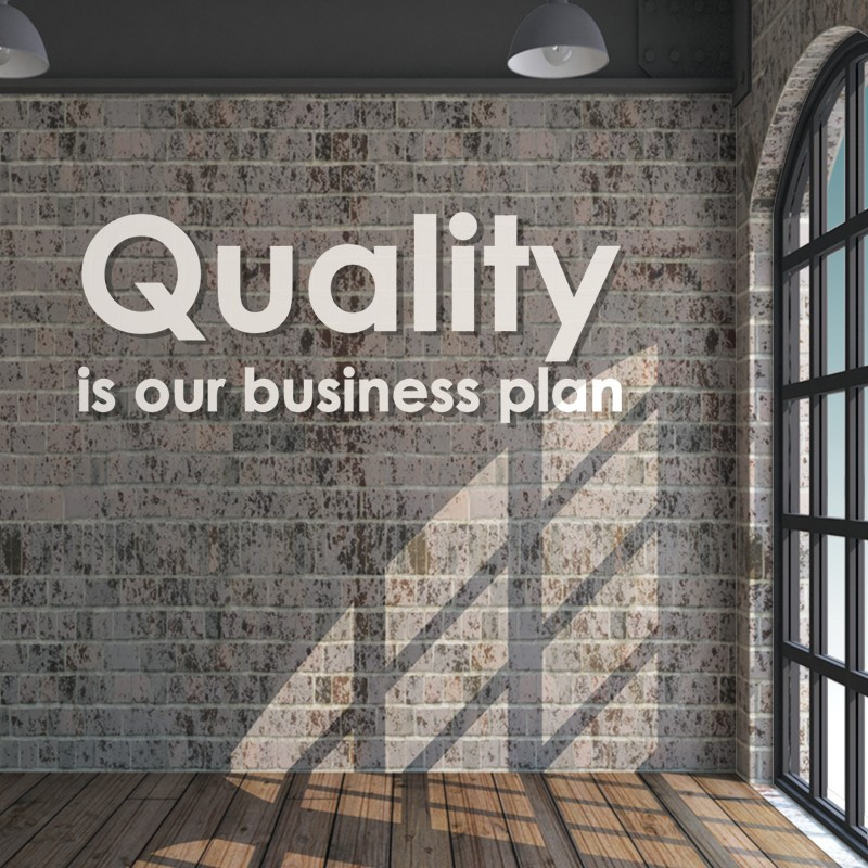 3D - Quality Is Our Business Plan