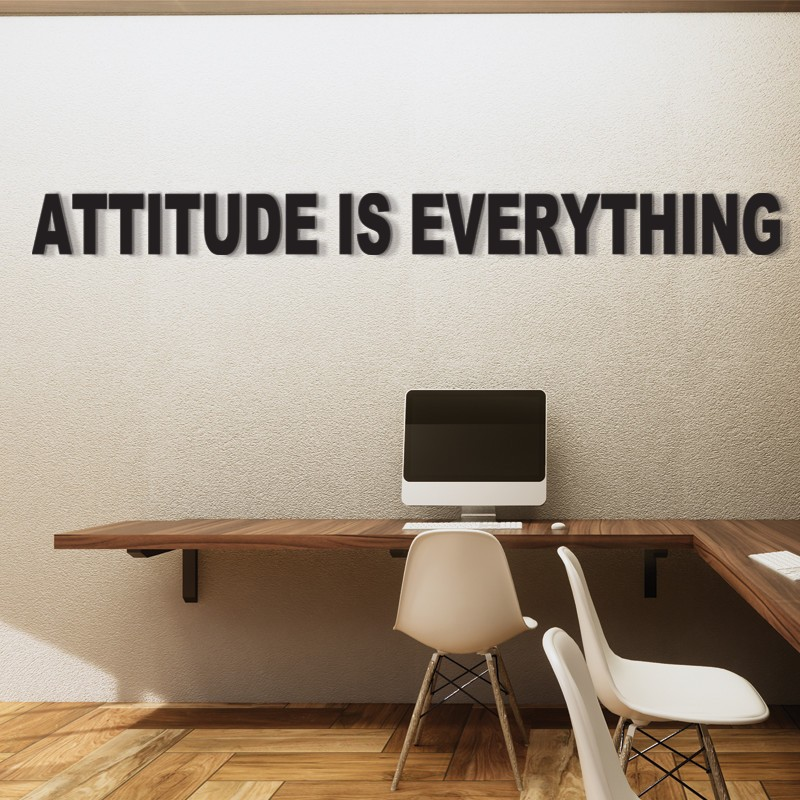 3D - Attitude Is Everything