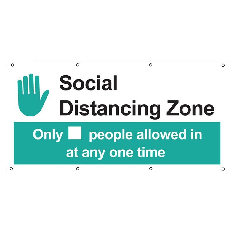 SOCIAL DISTANCING ZONE