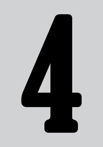 Αριθμός τέσσερα