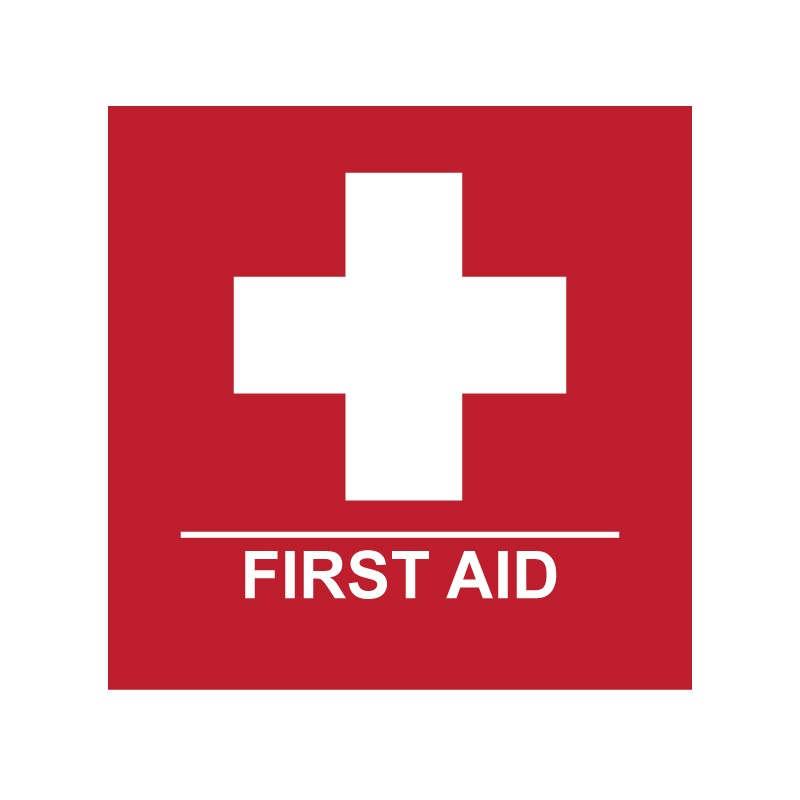 FIRST AID - RED