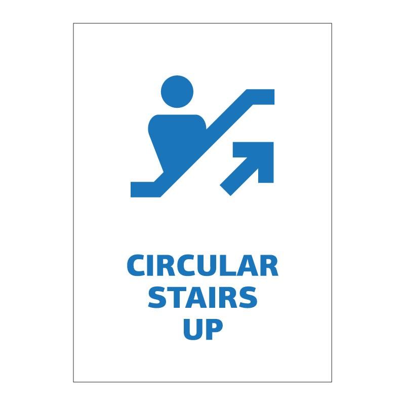CIRCULAR STAIRS UP