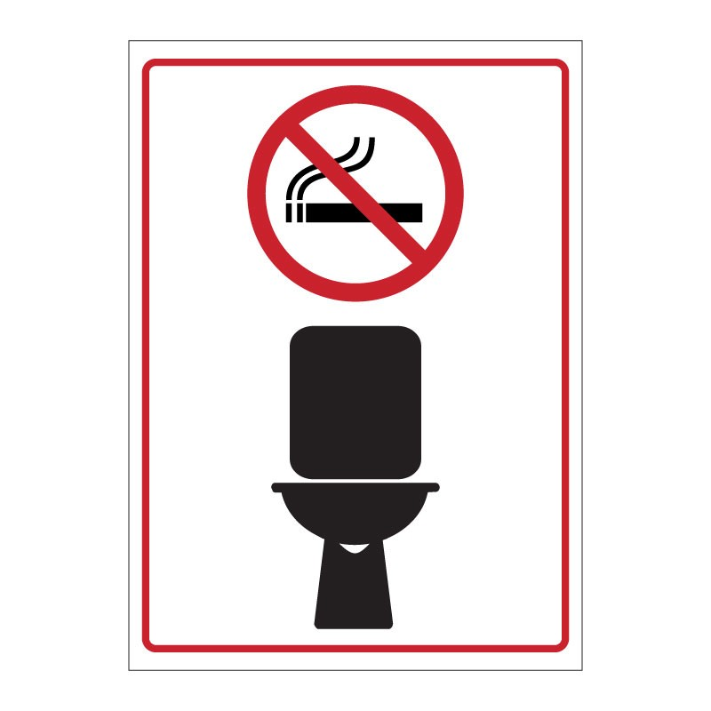 NO SMOKING - WC