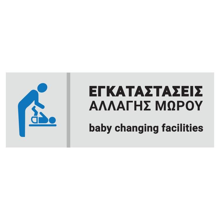 Εγκαταστάσεις αλλαγής μωρού