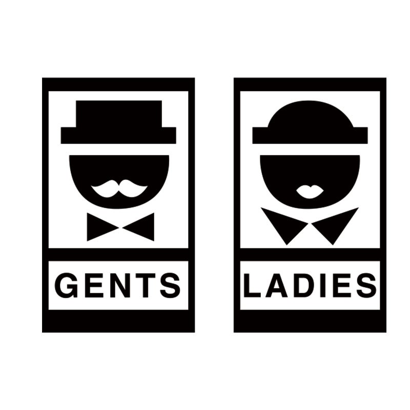Gents and ladies
