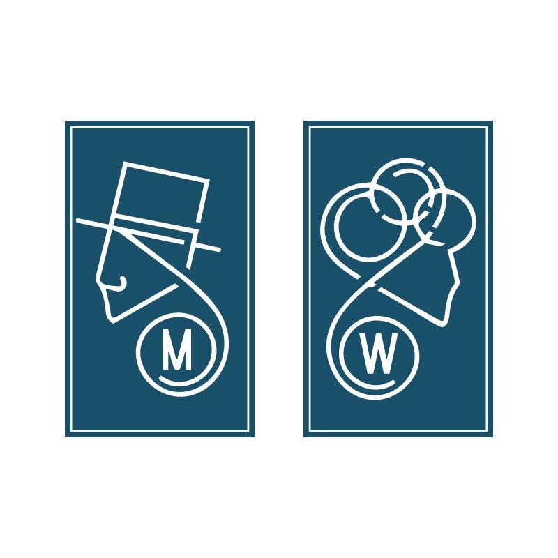 Γραμμικές φιγούρες Άντρας Γυναίκα