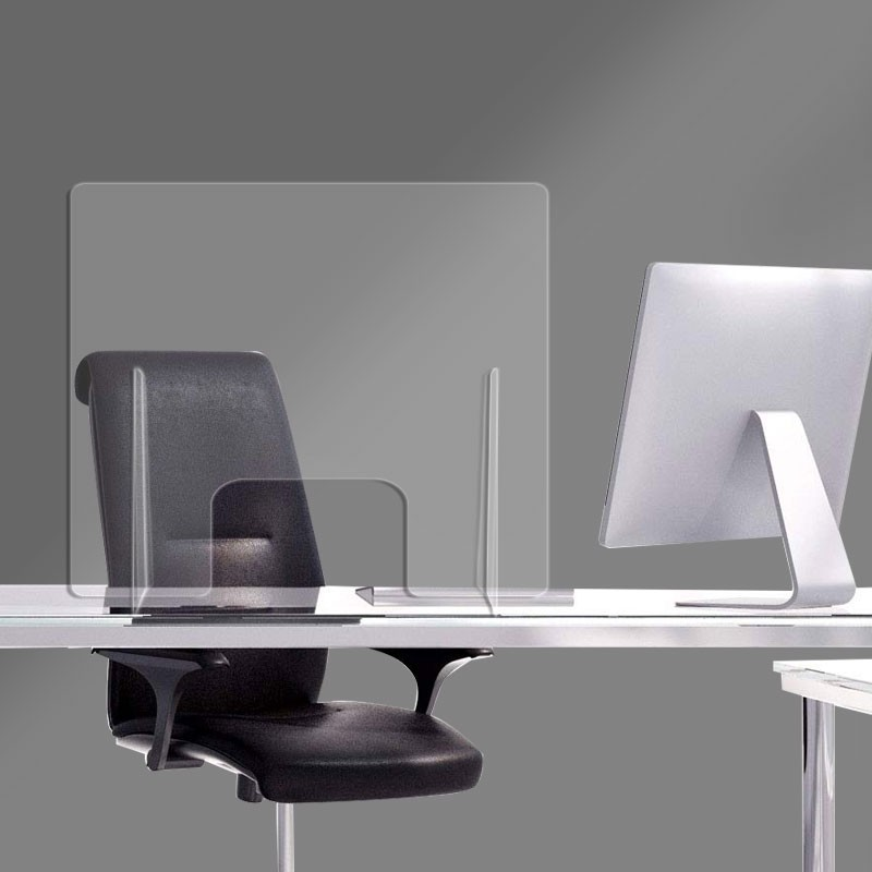 Διαχωριστικό Γραφείου 80x70 υψος | plexiglass