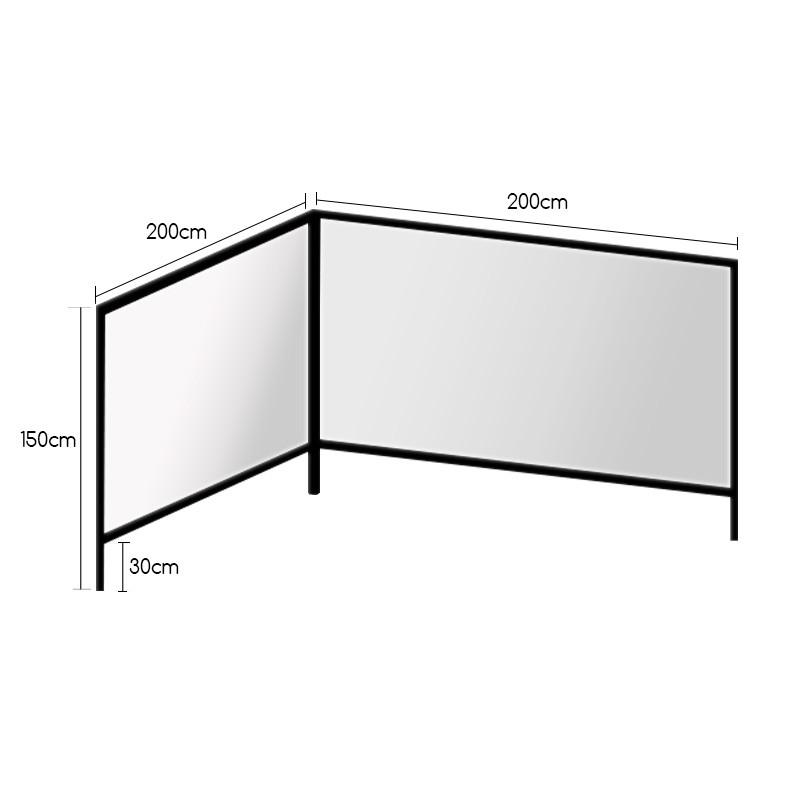 STAND Γ  200Χ150 (2 ΤΕΜΑΧΙΑ) |  plexiglass