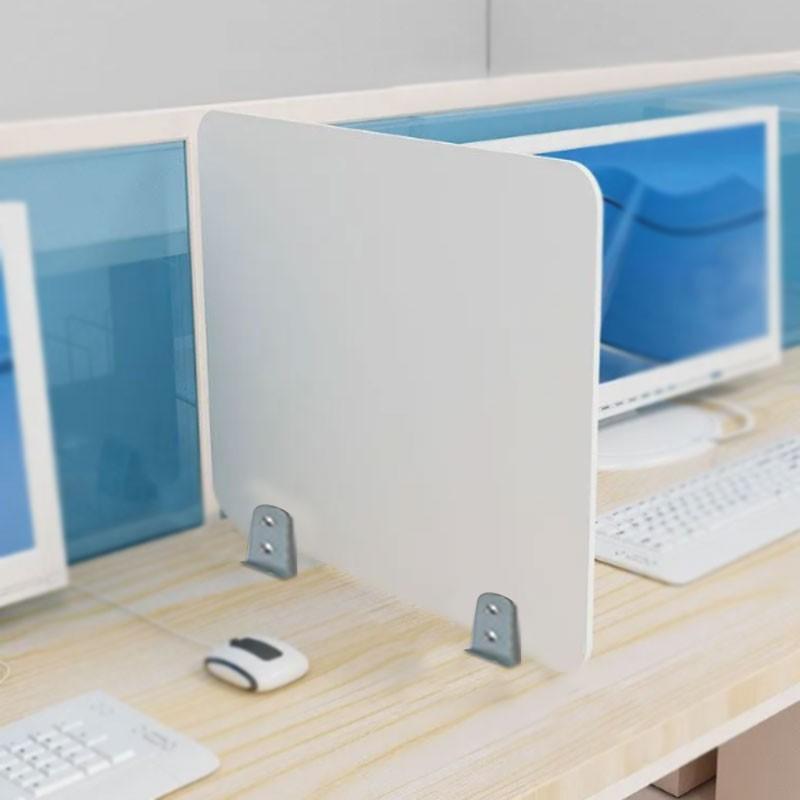 Βιδωτό Διαχωριστικό Προστασίας | Άσπρο (5mm) 40x50 ύψος |  plexiglass