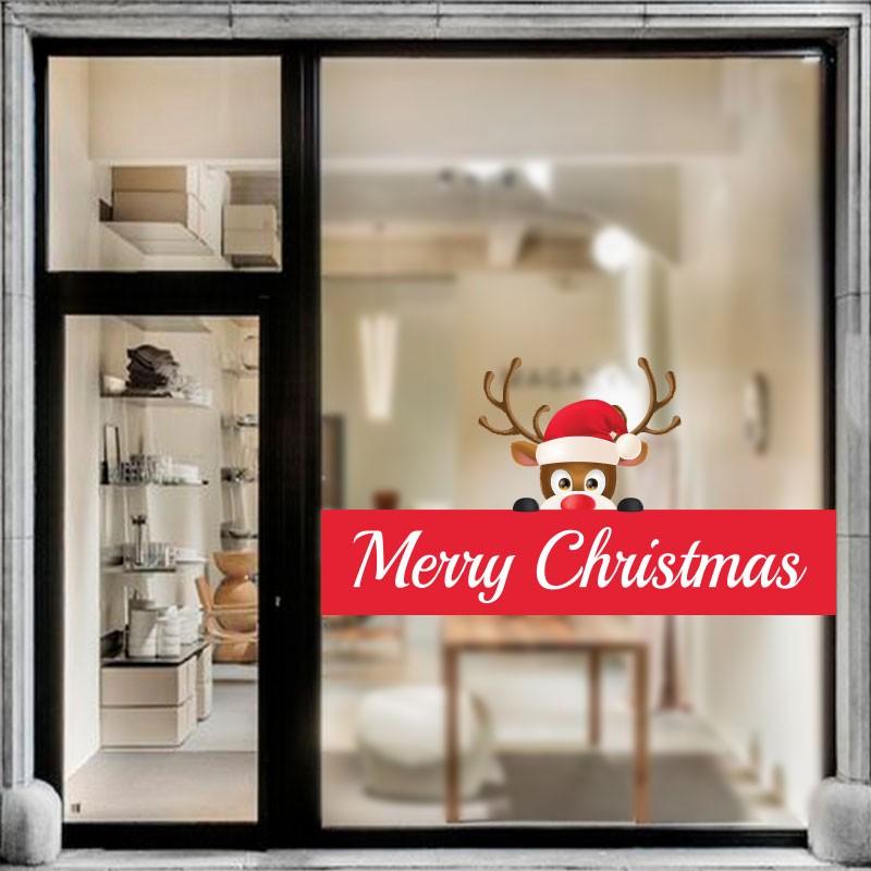 Reindeer Wish Merry Christmas