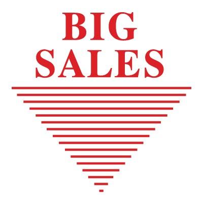 Big sales γραμμές υπογράμμισης