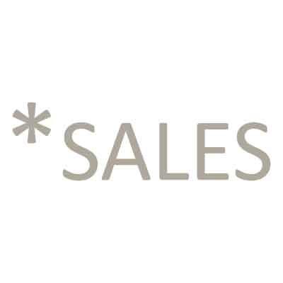 Sales με αστερίσκο