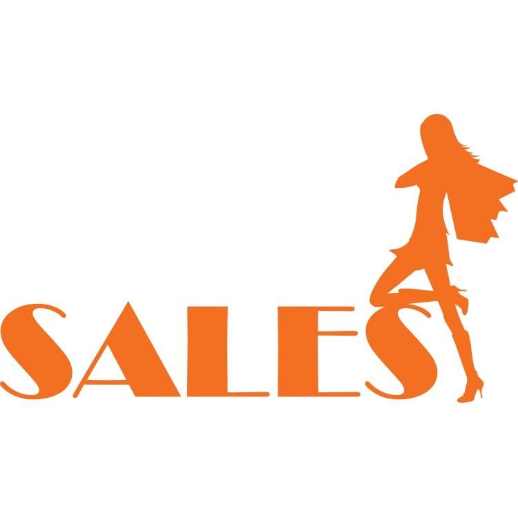 Sales μοντέρνα γυναίκα