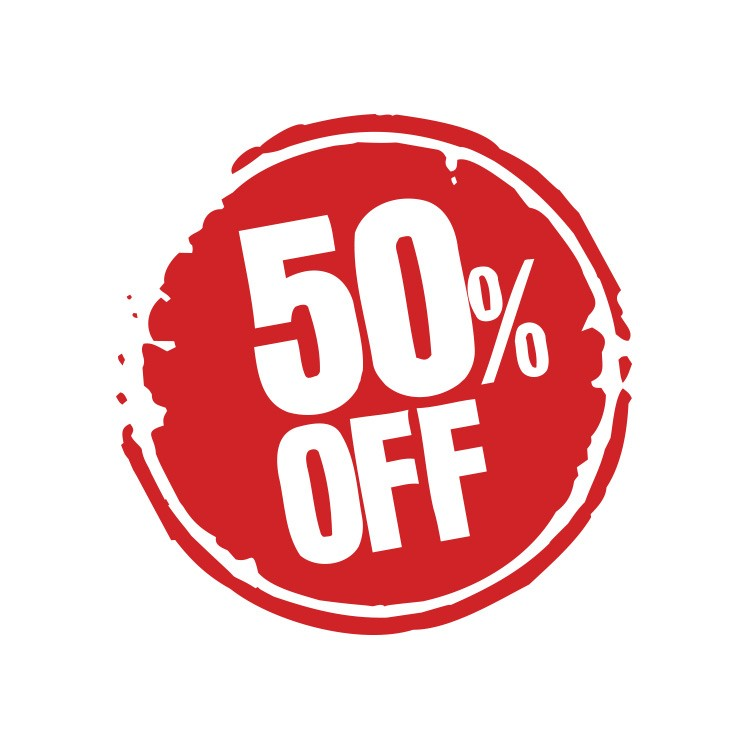 50% Off σε κύκλο