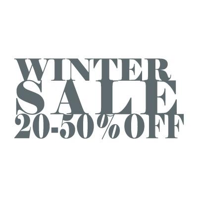 Winter sale 20%-50% off