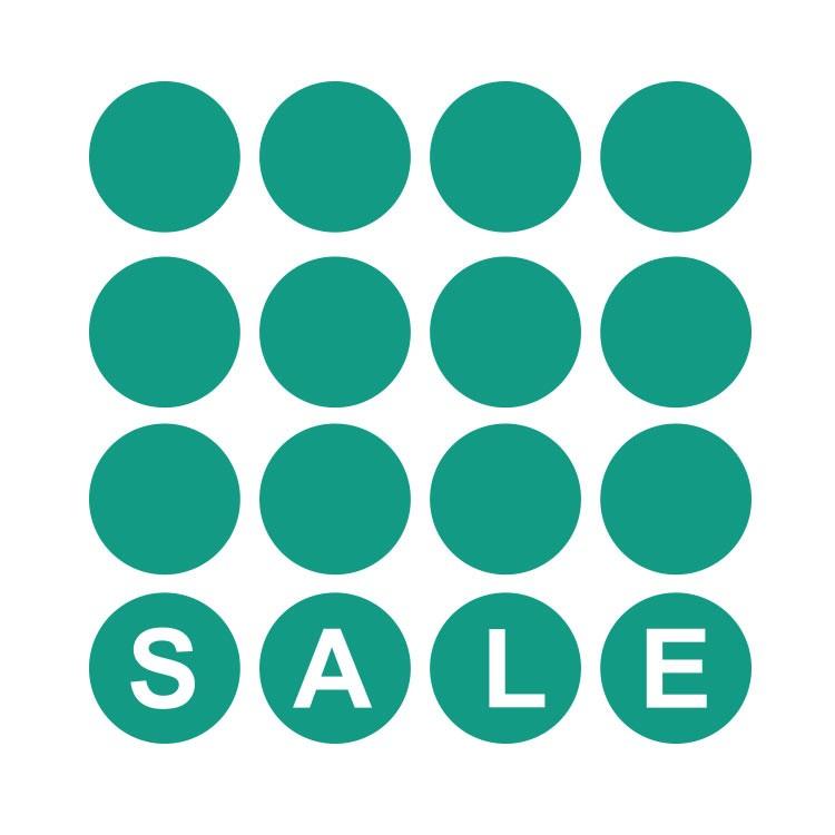 Sale τετράγωνο με κύκλους