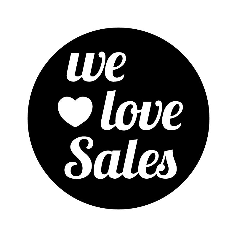 We love sales