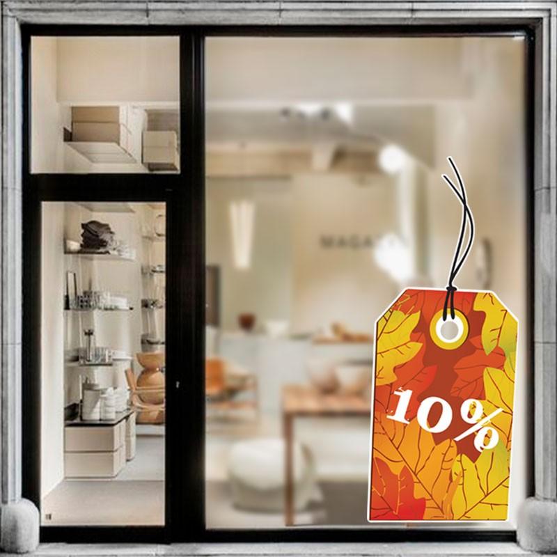 10% Πορτοκαλί ετικέτα