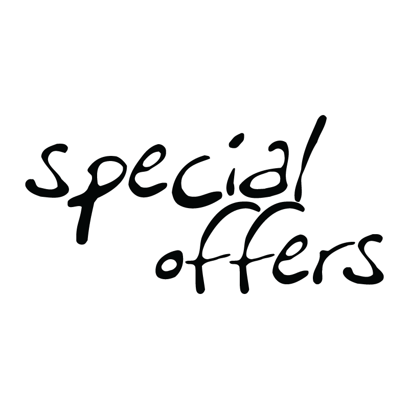 Χρωματιστά γράμματα Special offers
