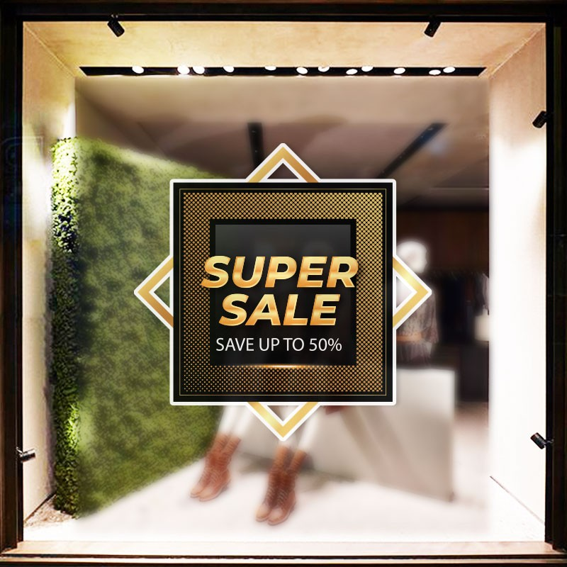 Super Sale Σε Πλαίσιο
