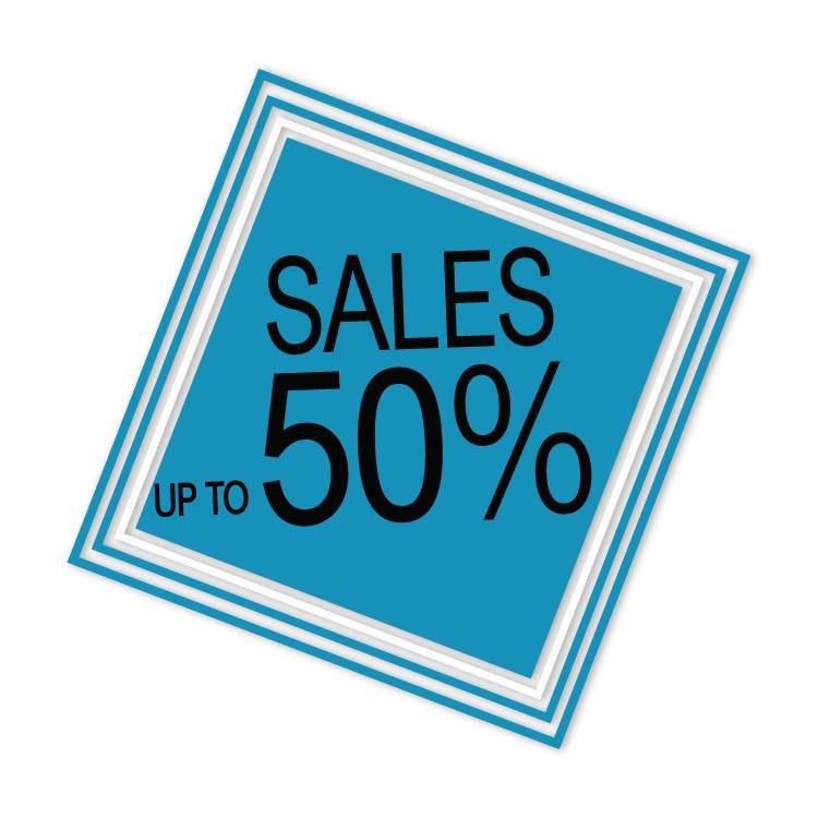 Sales up to ρόμβος