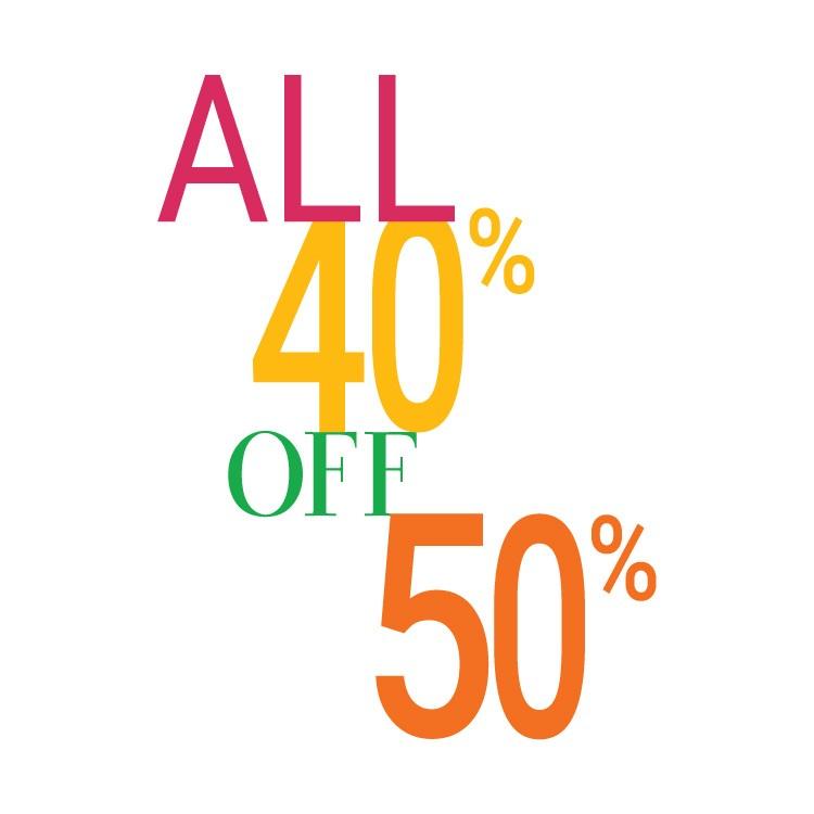 Όλα 40% και 50%