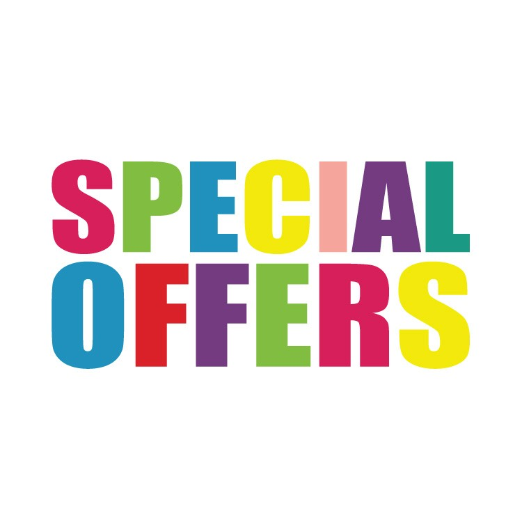 Special offers πολύχρωμο