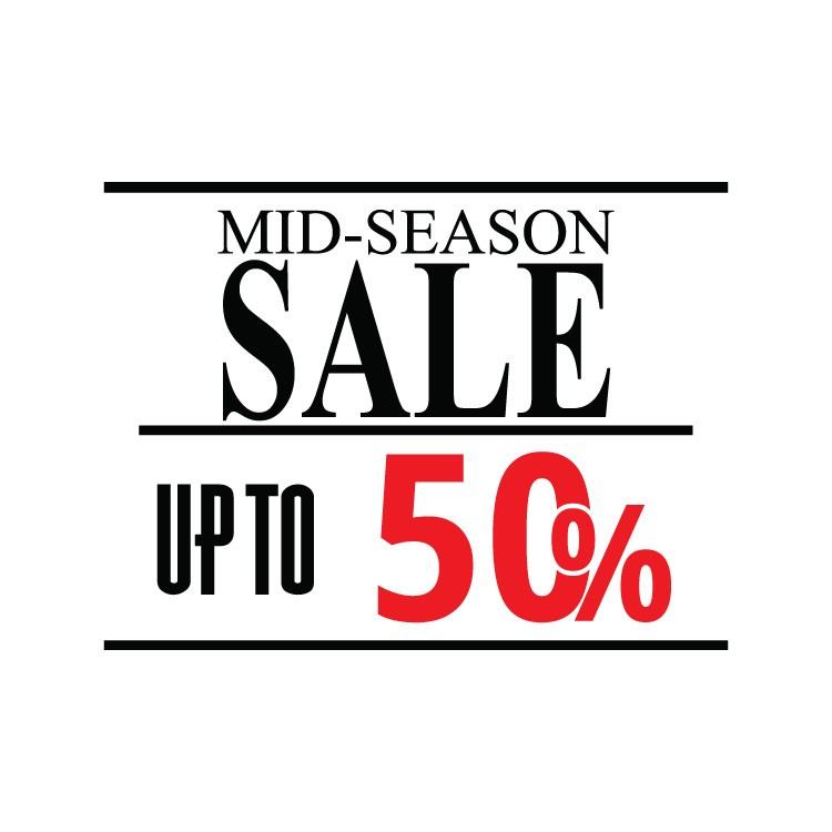 Mid-season sale up to