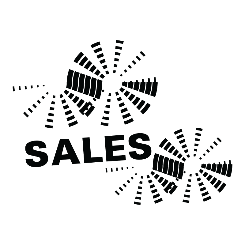 Sales με ροζέτες