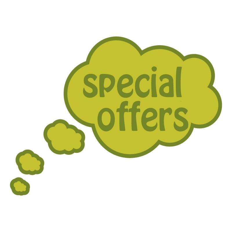 Special offers σε πρασινο σύννεφο