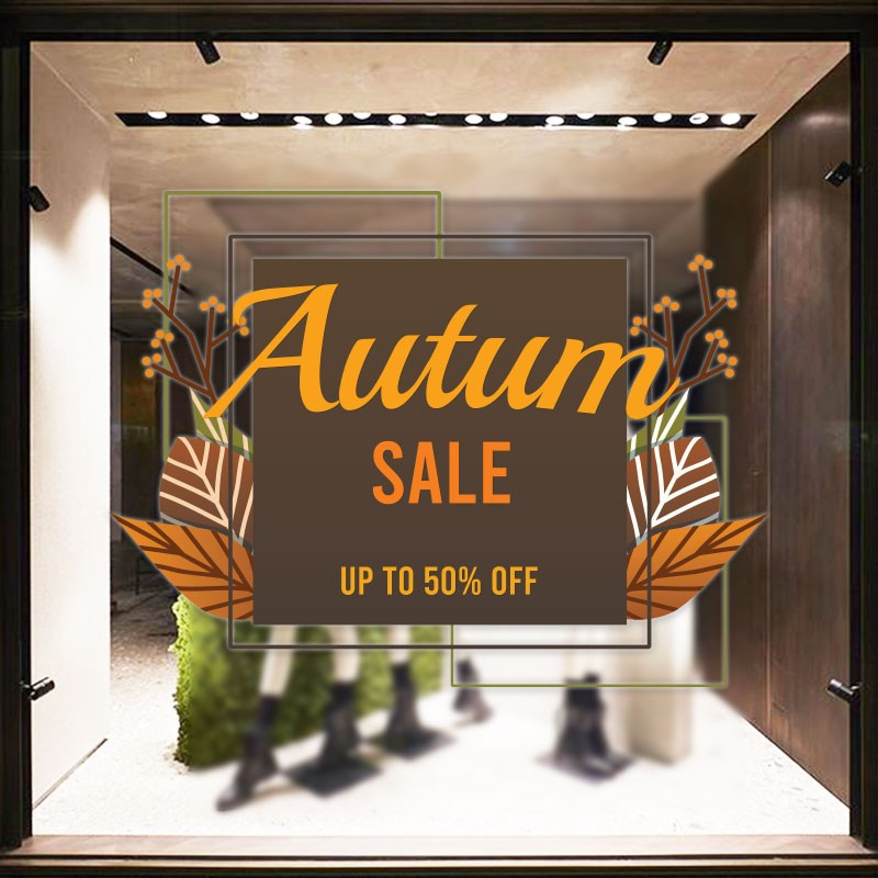 Autumn sale up to 50%