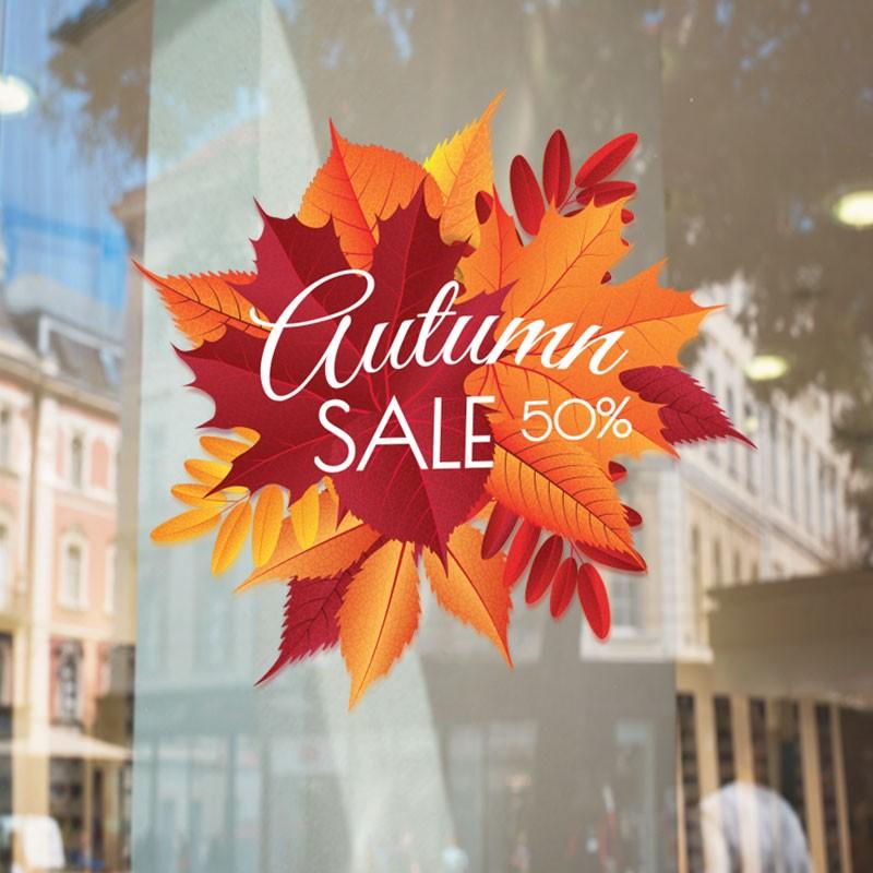 Autumn sale καλλιγραφικό