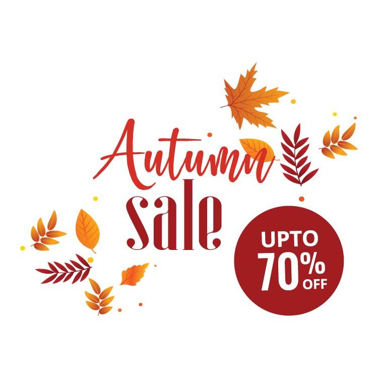 Autumn sale leaves