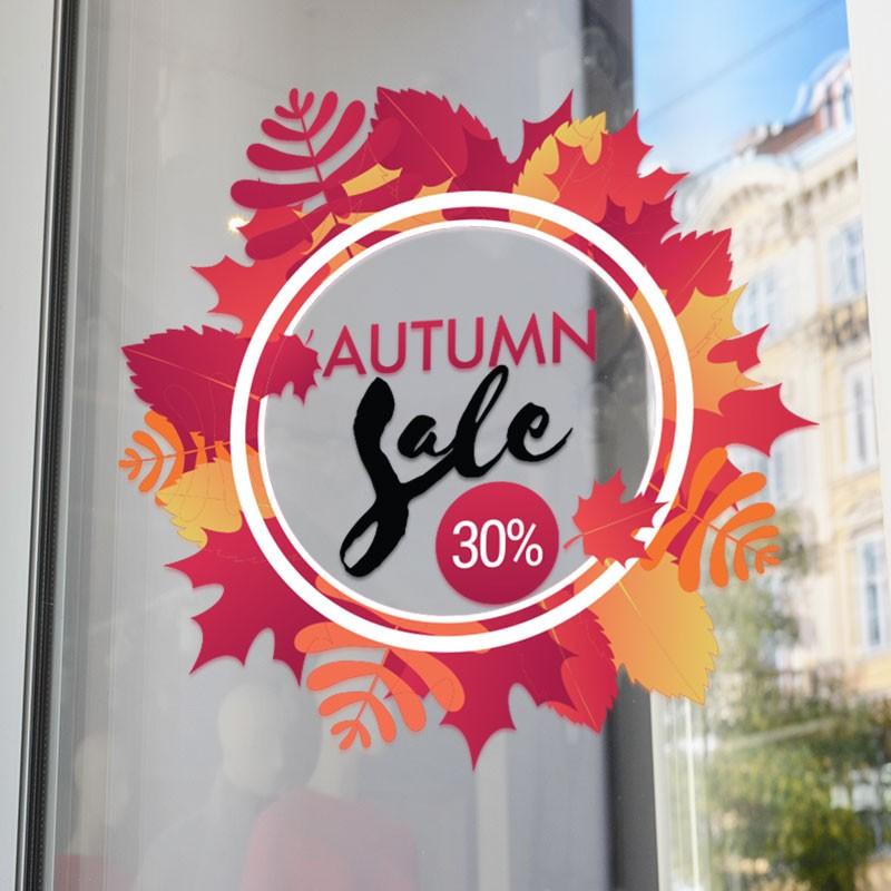 Autumn sale 30% στρογγυλό