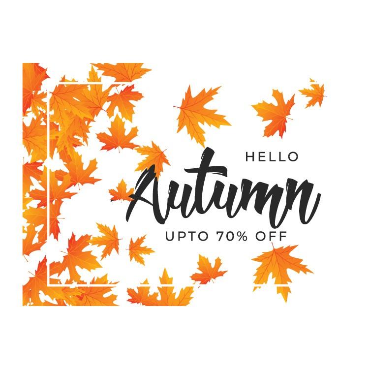 Φθινόπωρο έως και 70%
