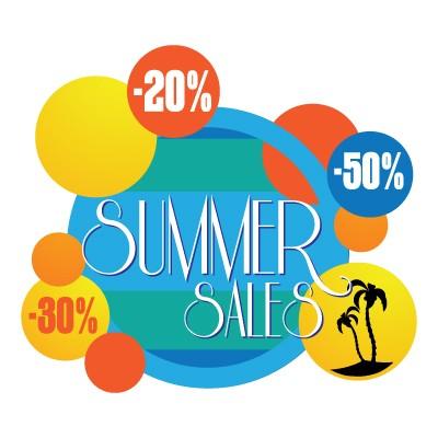 Summer sales bubbles
