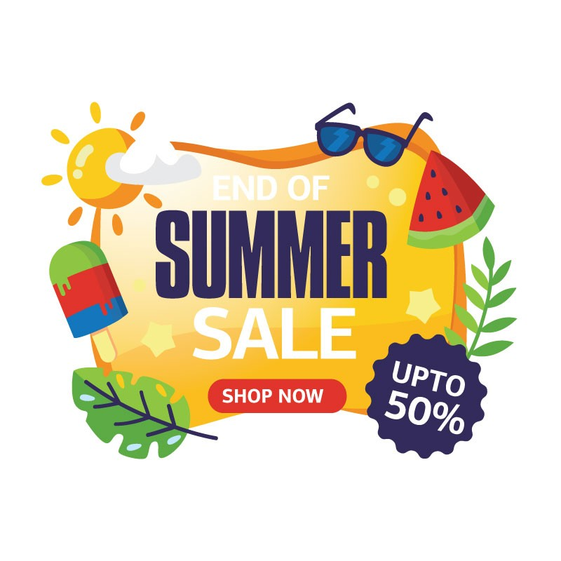 End Of Summer Sale 2