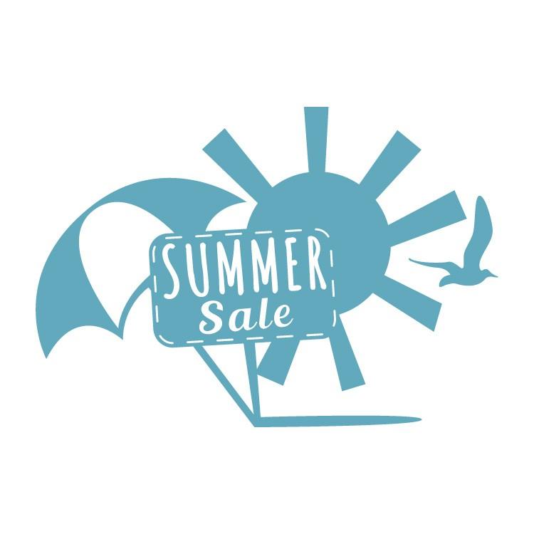 Summer Sale κόκκινα σχέδια