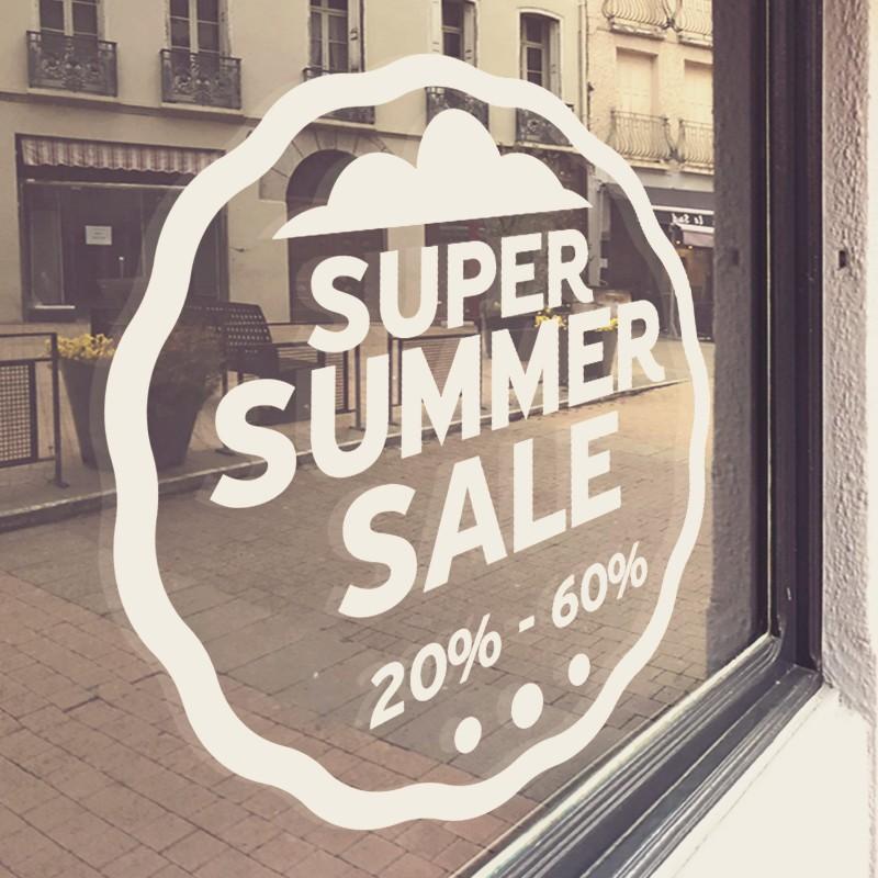 Summer Sale Στρογγυλό