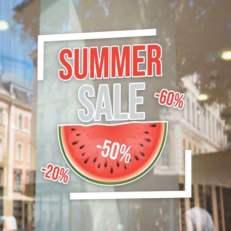 Summer Sale Με Καρπούζι