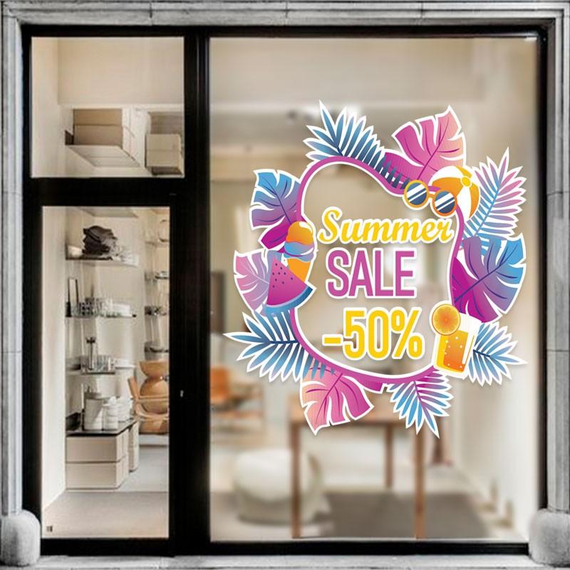 Summer Sale Μοβ Λουλούδια