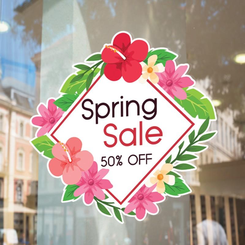 Spring Sale Με Άνθη Περιμετρικά