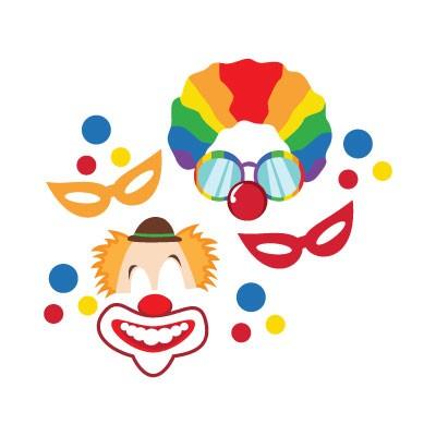 Clown και μάσκες