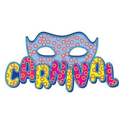 Χρωματιστό ''Carnival'' φούξια- κίτρινο