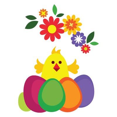 Πουλάκι με αυγά
